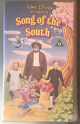 £72.43 • Buy RARE Disney Song Of The South VHS Tape Brer Rabbit Bear Universal Play Banned
