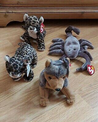 £4 • Buy X4 TY Teddies Joblot With Tags