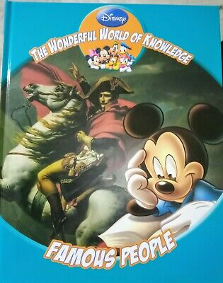 £1.75 • Buy Disney The Wonderful World Of Knowledge Famous People