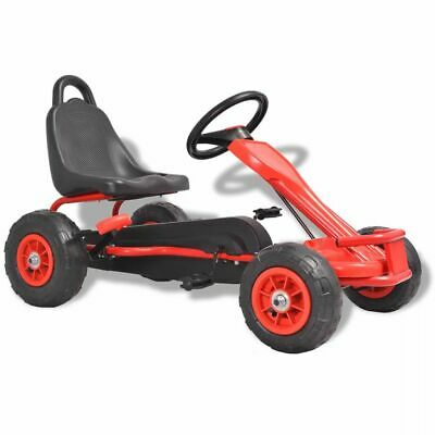 £97.99 • Buy VidaXL Pedal Go-Kart With Pneumatic Tyres Red Racing Riding Push Play Vehicle