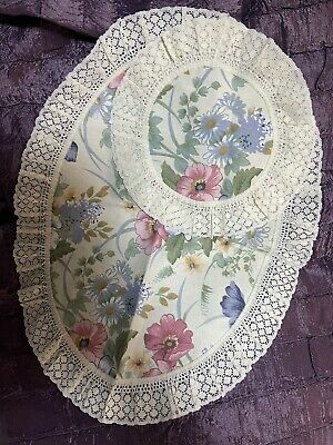 £3 • Buy Stunning Floral Lace Trim Set Of 3 Coffe Table Decotative Cloths Covers New
