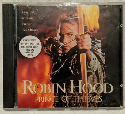 £0.99 • Buy Robin Hood: Prince Of Thieves - 10-track Uk Cd Soundtrack - 1991 - Used