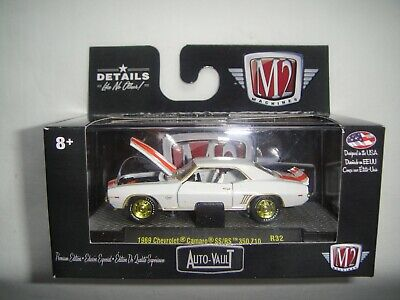 $37.95 • Buy M2 Machines Auto Vault R32 , GOLD CHASE, 1969 Chevrolet Camaro SS/RS 350 Z10