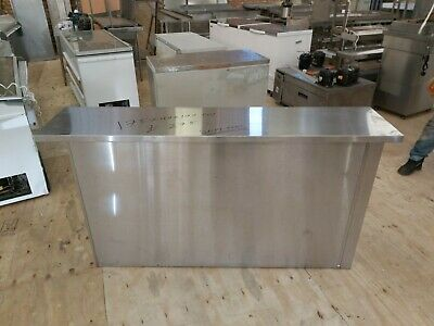 £275 • Buy Commercial Stainless Steel Slim Table Work Top With Front Cover 175x40x90 Cm