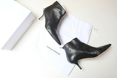 AU150 • Buy Scanlan Theodore Leather Ankle Boots Size 40 Preloved KM070321