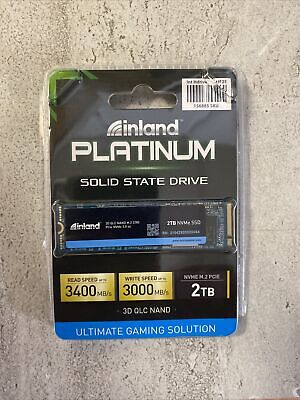 AU267.24 • Buy NEW Inland Platinum 2TB SSD 3D NAND M2 PCIe NVMe 2280 Internal Solid State Drive