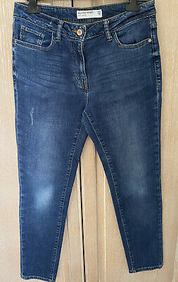 £1.40 • Buy Next Ladies Denim Relaxed Skinny Fit Jeans Size 12L