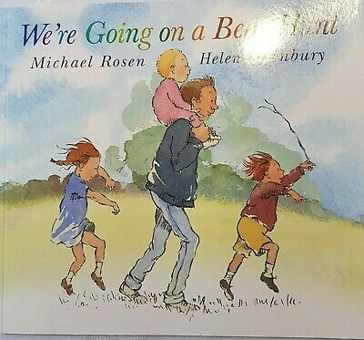 £4.90 • Buy We're Going On A Bear Hunt By Michael Rosen & Helen Oxenbury (Paperback, 2016)