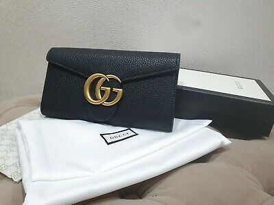 AU292.64 • Buy Gucci Long Wallet With GG Logo