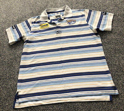 £15 • Buy ISC Leeds Rhinos Rugby League Polo Training Shirt - Adults Men's Size Large L