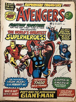 £25 • Buy The Avengers 1973 Issue 1