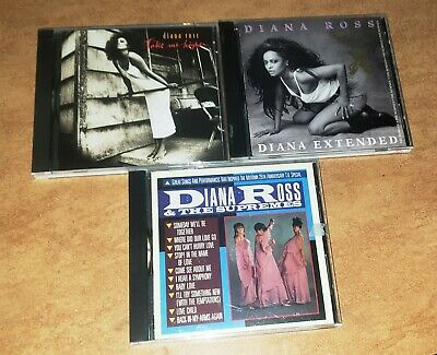 $ CDN14.31 • Buy Lot Of 3 Diana Ross CDs Take Me Higher, Extended, Greatest Hits With Supremes