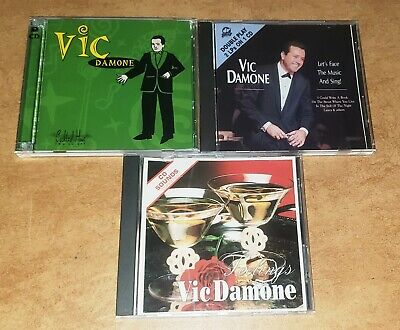 $ CDN20.90 • Buy Lot Of 3 Vic Damone CDs Cocktail Hour, Feelings, Lets Face The Music And Sing!