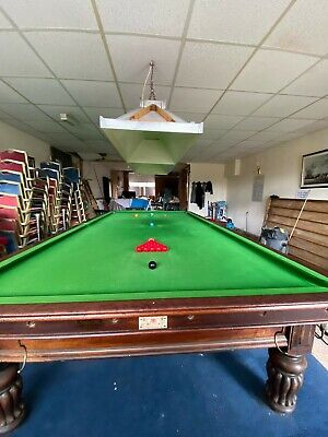 £7000 • Buy George Wright & Co Antique Mahogany Snooker Billiard Table - Full Size (12ft)
