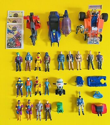 $49 • Buy Vintage Kenner M.A.S.K. Lot - 19 Figs + T Bob Piranha Firefly Accessories + More