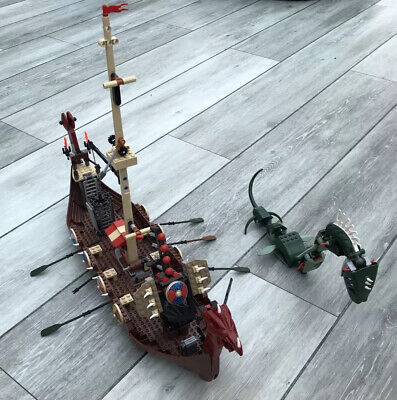 £30 • Buy Vintage Lego Viking Ship With Instructions, Not Fully Complete.