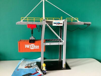 £39.99 • Buy Playmobil 5254 Working Loading Terminal Crane And Container P77