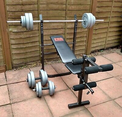 £74.99 • Buy Pro Power Multi-Use Workout Bench With Weights