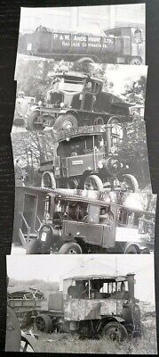£5 • Buy 5 Steam Wagon Lorry Photographs - Foden Sentinel Good Condition