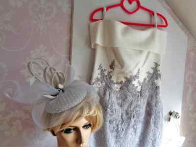 £200 • Buy Veni Infantino 991524 Size 12 In Ivory-Silver MOTHER OF THE BRIDE/GROOM/GUEST