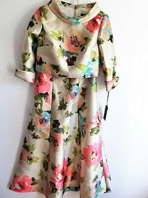 £360 • Buy Veni Infantino Floral Dress  VARIOUS SIZES MOTHER OF THE BRIDE/GROOM/GUEST