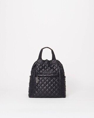 $80 • Buy NWT Auth MZ Wallace Small Metro Convertible Backpack In Black. Retails $245