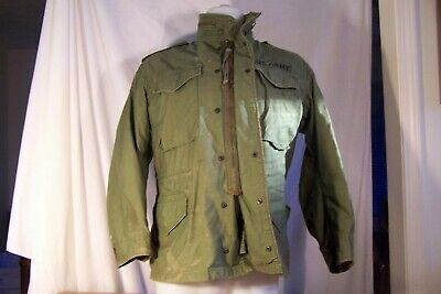 $20 • Buy U.s. Army Cold Weather M-65  Field Coat W Hood.small -short Dated 1979