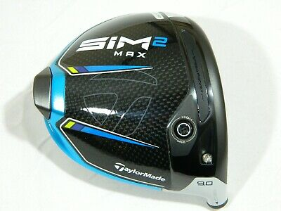 AU205.12 • Buy 2021 Taylormade Sim2 Max 9* Driver Head Only - Sim 2 Max + Headcover