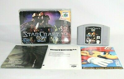 $ CDN111.47 • Buy Starcraft 64 N64 Nintendo 64 Complete In Box CIB! Authentic & Tested! VERY RARE!