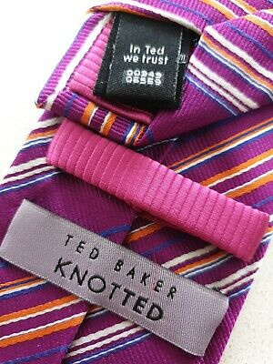 £8 • Buy Ted Baker Knotted Silk Tie 8cm