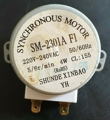 £8 • Buy SM-2301A F1 Microwave Oven Turntable Synchronous Motor 5/6 R/min