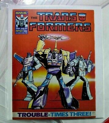 £6.99 • Buy 20 X Transformers COMIC BAGS - SLEEVES AND BOARDS  Marvel UK