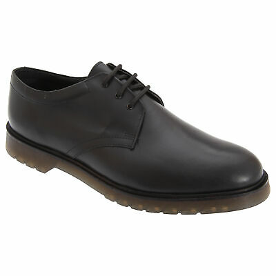 £37.90 • Buy Grafters Mens Hi-Shine Smooth Leather Uniform Shoe Air Cushioned Sole DF229