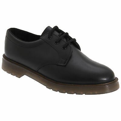 £38.58 • Buy Grafters Mens Smooth Leather Uniform Shoes With Air Cushioned Sole DF106