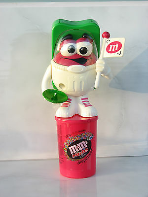 $62.17 • Buy M&M's Candy Dispenser Astronaut Cosmonaut Spaceman White Pink Flag Used Rare