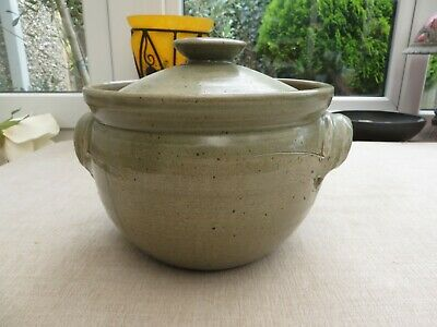 £20 • Buy Stunning Studio Pottery Lidded Tureen/dish Marked  St Ives Gallery Cornwall