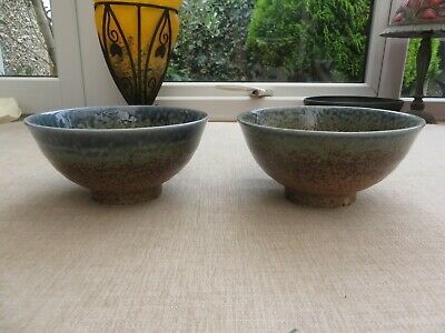 £15 • Buy Stunning Studio Pottery Bowls Marked  St Ives Gallery Cornwall  Sea And Sand