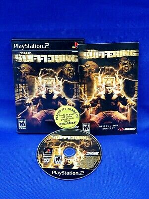 $ CDN55.73 • Buy The Suffering (Sony PlayStation 2, 2004) Complete With Manual/Registration Card