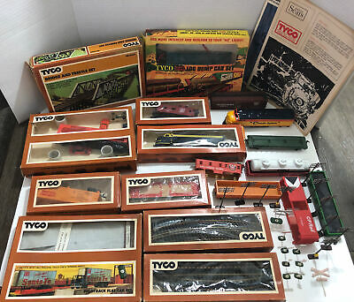 $ CDN88.13 • Buy Vintage HO Scale 1970s Tyco Train Set & Accessories + Original Boxes Lot Of 17