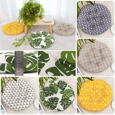 £7.53 • Buy Nordic Circle Cushions Dining Chair SEAT PADS Thick Garden Floor Cushion Home UK