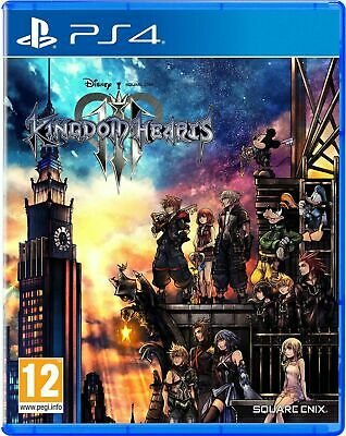 £6.95 • Buy Kingdom Hearts III 3 Ps4 - New And Sealed (French Case, English Gameplay)