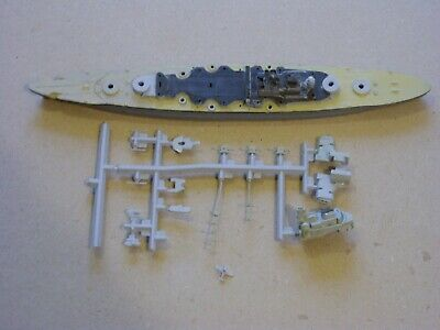 £4 • Buy Airfix 1:1200 Warship Kit A02231: Bismarck (started And Incomplete)