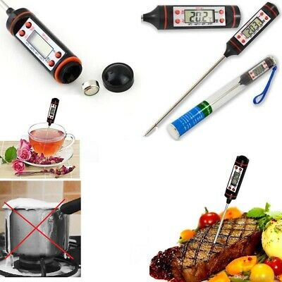 £2.99 • Buy Digital Multi-Functional Thermometer Best For Food Meat Grill BBQ Milk Wine UK.