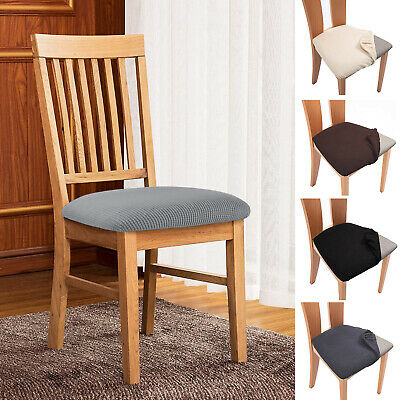 £3.09 • Buy Jacquard Dining Chair Seat Cover Stretchable Slipcover Protector Removable Cover