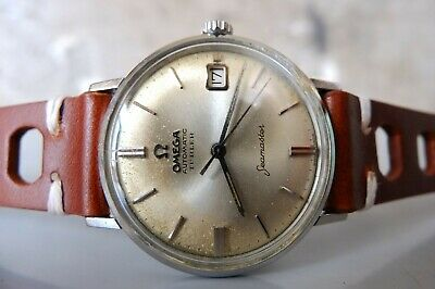 $649 • Buy 1960's Vintage OMEGA Seamaster TURLER SS 34mm Date Automatic Mens Dress Watch
