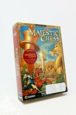 $29.95 • Buy Hoyle Majestic Chess - PC - COMPLETE W/ Manual - Chess Game