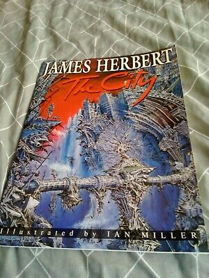 £40 • Buy James Herbert - The City - First Edition - Graphic Novel Book (1994)  NEW  BOX16