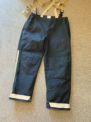 £16.99 • Buy British Fire Rescue Service  Firefighters Blue Silver Leggings 180 / 104