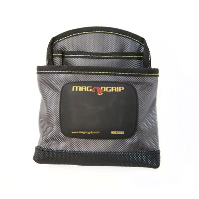 $19.20 • Buy Clip-On Pouch Tool Storage Nail Bag Magnetic Adjustable 1-Pocket Polyester Gray