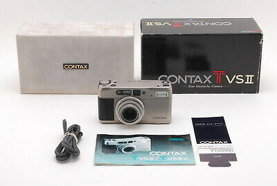 $ CDN654.60 • Buy 【Excellent W/Box】Contax TVS II 35mm Point & Shoot Film Camera From JP (190-z48)